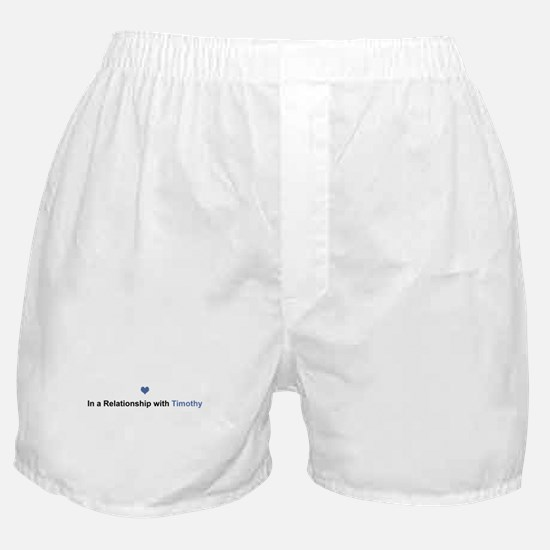 Timothy Relationship Boxer Shorts