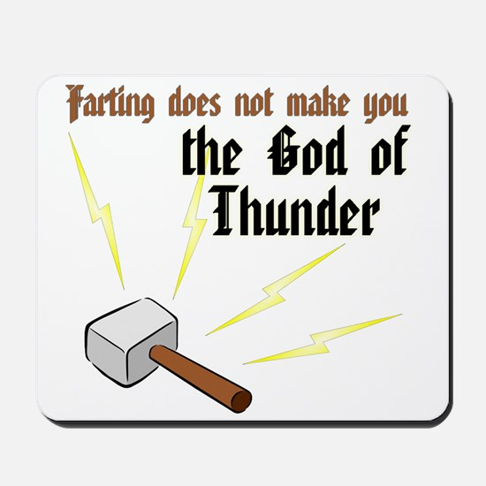 Farting Does Not Make You the God of Thunder Mouse