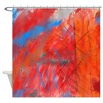 Crazy Vibrance Shower Curtain