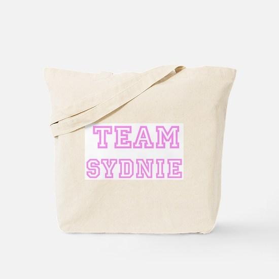 Pink team Sydnie Tote Bag