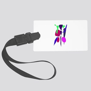 Dance Large Luggage Tag