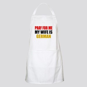 Pray Wife German Apron