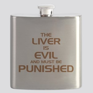 The Liver Is Evil And Must Be Punished Flask