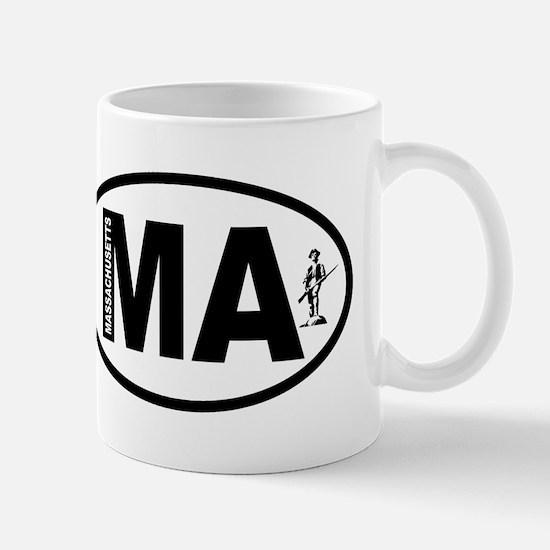 Massachusetts Minuteman Mug