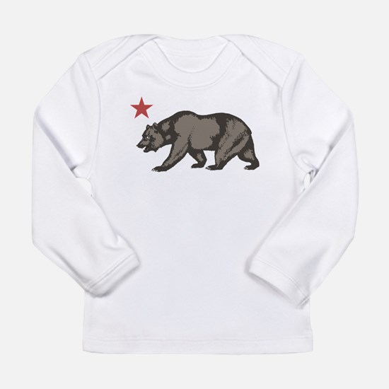 California Bear with star Long Sleeve Infant T-Shi