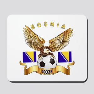 Bosnia Football Design Mousepad