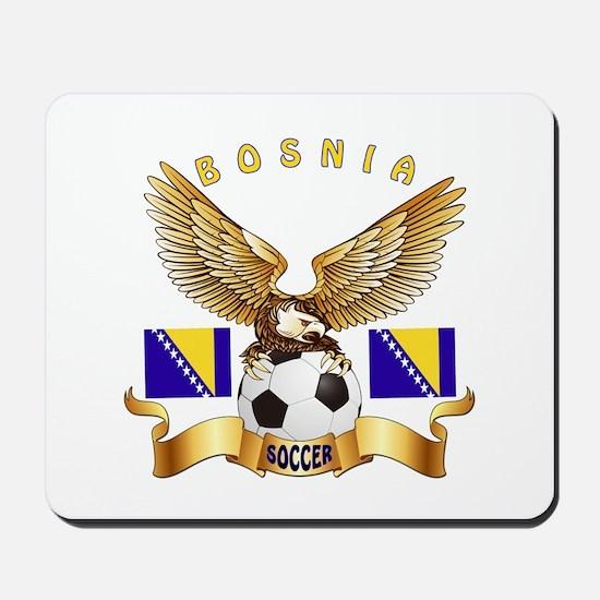 Bosnia Football Design Mousepad