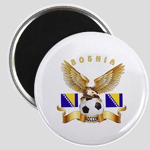 Bosnia Football Design Magnet