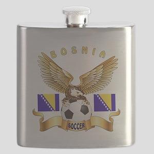 Bosnia Football Design Flask