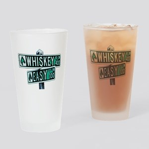 Whisky & Easy 4 Drinking Glass