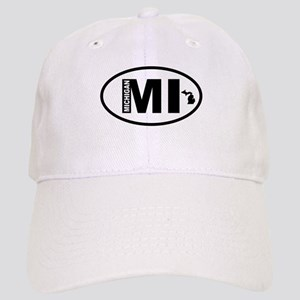 Michigan Map Cap