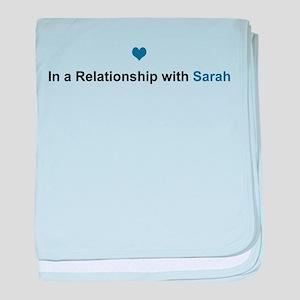 Sarah Relationship baby blanket