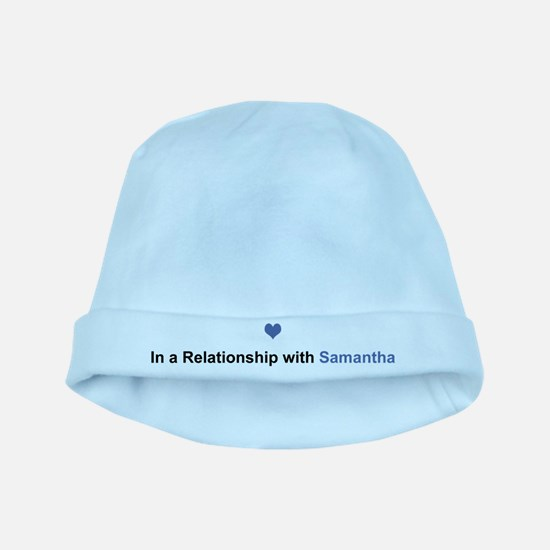 Samantha Relationship baby hat