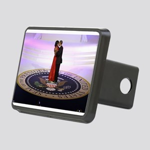 Michelle Barack Obama Rectangular Hitch Cover