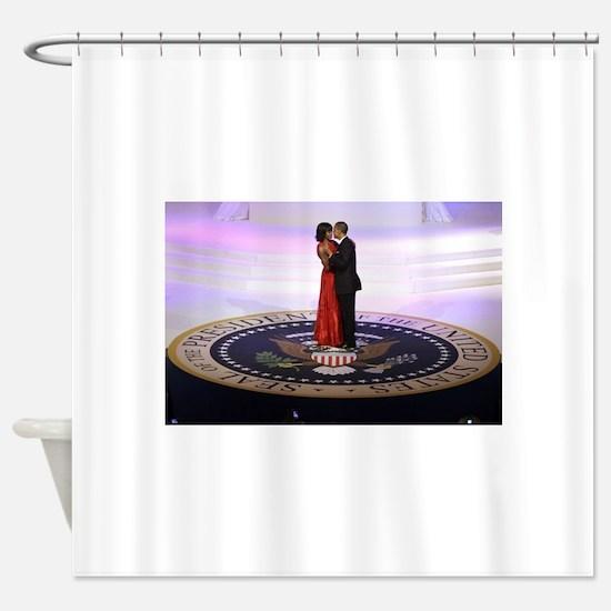 Michelle Barack Obama Shower Curtain