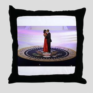 Michelle Barack Obama Throw Pillow