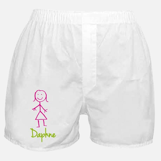 Daphne-cute-stick-girl.png Boxer Shorts