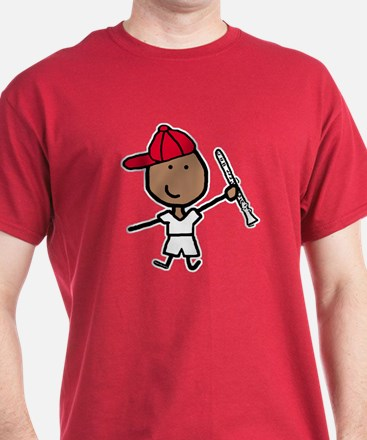 Clarinet - Red Hat T-Shirt