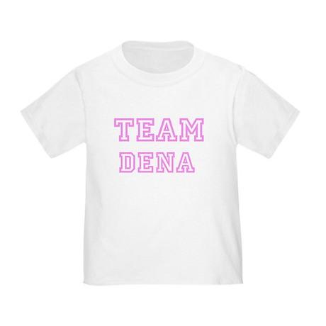 Pink team Dena Toddler T-Shirt