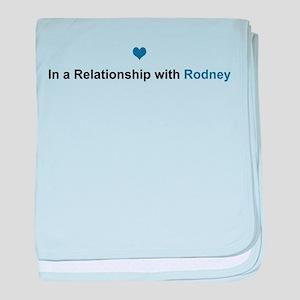 Rodney Relationship baby blanket