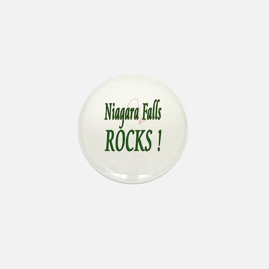 Niagara Falls Rocks ! Mini Button