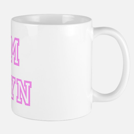 Pink team Joselyn Mug