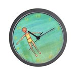 tea-party_mug Wall Clock