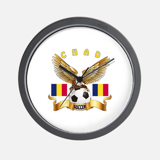 Chad Football Design Wall Clock