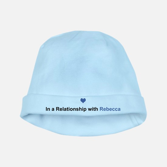 Rebecca Relationship baby hat
