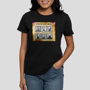 Vicksburg - Union Women's Dark T-Shirt