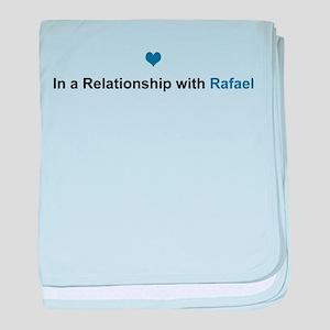 Rafael Relationship baby blanket