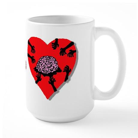 I love you more than a Zombie Large Mug