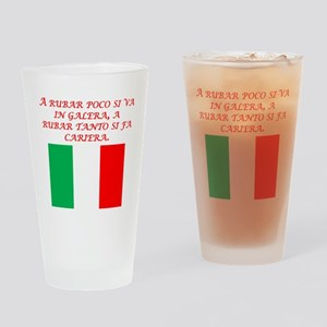 Italian Proverb Stealing Drinking Glass