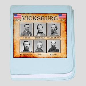 Vicksburg - Union baby blanket