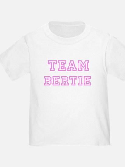 Pink team Bertie T