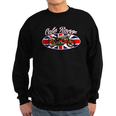 Cafe Racer - British Flag Sweatshirt (dark)