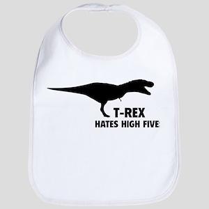T-REX HATES HIGH FIVES Bib
