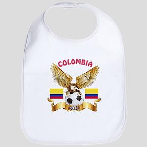 Colombia Football Design Bib