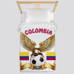 Colombia Football Design Twin Duvet