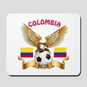 Colombia Football Design Mousepad