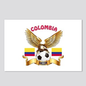 Colombia Football Design Postcards (Package of 8)