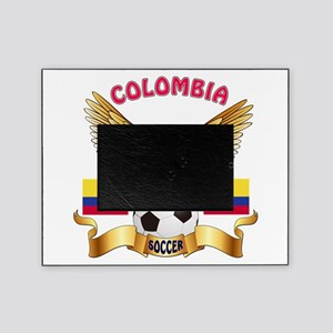 Colombia Football Design Picture Frame