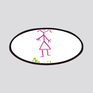 Maritza-cute-stick-girl Patches