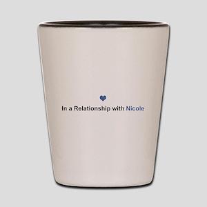 Nicole Relationship Shot Glass