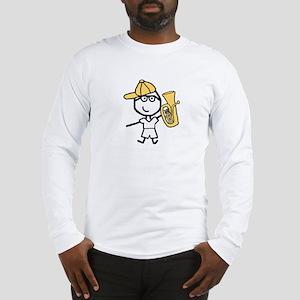 Baritone - Glasses Boy Long Sleeve T-Shirt