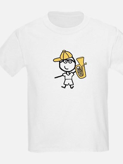 Baritone - Glasses Boy Kids T-Shirt