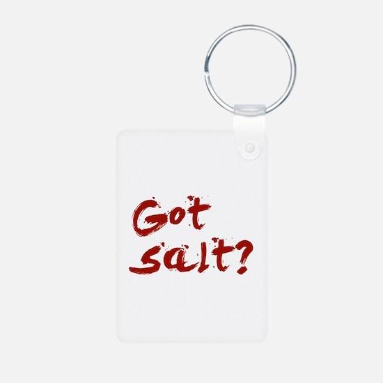 Got salt? Keychains