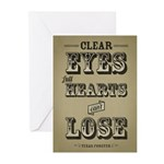 Clear Eyes Full Hearts Greeting Cards (Pk of 10)