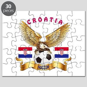 Croatia Football Design Puzzle