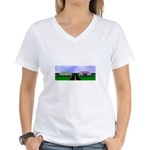 PA Ammo Store Women's V-Neck T-Shirt